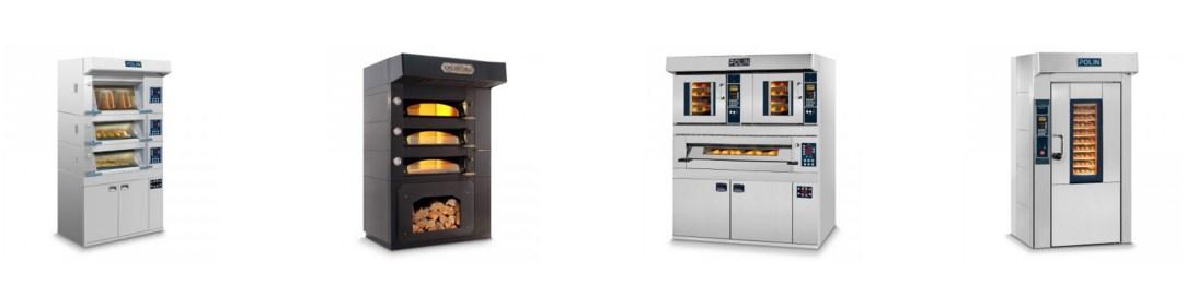 attrezzature per pasticceria forni
